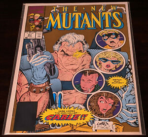New Mutants #87 (1983/Vol. 1) !!!2ND PRINTING OF 1ST APPEARANCE OF CABLE!!!