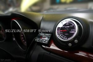 Boost Gauge (no wire cutting) Set Fits Suzuki SWIFT Sport ZC33S 【Top Gauge】