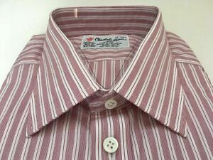 TURNBULL & ASSER Shirt,  UK:17, EU:43, RRP: £215!  NEW WITH TAGS, BUTTON CUFF