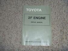 1975 Toyota Land Cruiser FJ40 FJ55 2F Engine Service Repair Manual 1976 1977