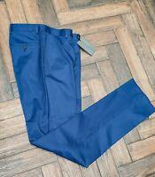 Gieves & Hawkes, Savile Row - slim wool trousers, w32, BNWT, RRP £195