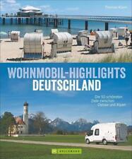 Wohnmobil-Highlights in Deutschland von Thomas Kliem (2017, Gebundene Ausgabe)