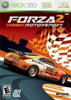 Forza Motorsport 2 Xbox 360 Game Only Very Good 6Z
