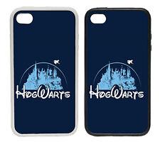Hogwarts Disney Inspired Castle Logo - Rubber and Plastic Phone Cover Case