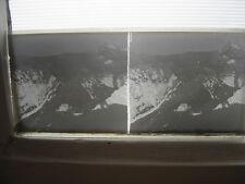 LOT Photo plaque verre NEGATIVES stereo 3D relief MONTAGNE PAYSAGES A IDENTIFIER