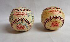 1999 Fenway Park All Star Game AL & NL Team Signed Baseball Lot Jeter Griffey