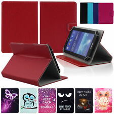 """US For Samsung Galaxy Tab A E S2 3 4 8"""" 8.0 Tablets Universal Leather Cover Case"""