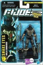 G.I. JOE-The Pursuit of Cobra_SNAKE EYES 3.75 inch action figure w/ Tornado Kick