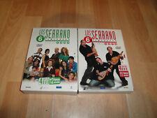LOS SERRANO 6ª TEMPORADA PRIMERA Y SEGUNDA PARTE DVD CON 8 DISCOS EN BUEN ESTADO