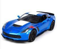 Maisto 1:24 2017 Corvette GT Grand Sport Diecast Model Racing Car Vehicle Toy