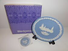 Wedgwood Jasperware Xmas Collection 1974 The House of Parliament /1969-74 Series