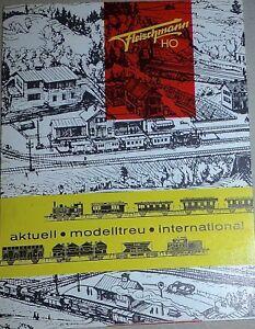 Fleischmann H0 Aktuell Model Accurately International Neuheiten- Leaflet 9/61 Å