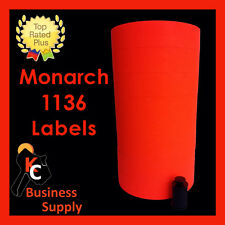 New ListingRed labels for Monarch 1136 price gun, one sleeve ink roller included