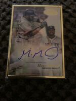 2017 TOPPS GOLD LABEL MANNY MARGOT *GOLD FRAMED ROOKIE AUTO*  SAN DIEGO PADRES