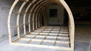 Glamping Pod Framework Kit ( 4.200m x 2.550m), Garden Room, Office Frameworks