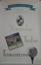 1996 Western Open PGA Golf Poster Steve Stricker Winner Cog Hill Golf Club