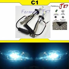 LED Kit C1 60W H15 8000K Icy Blue Head Light Bulb DRL Daytime Replacement Lamp