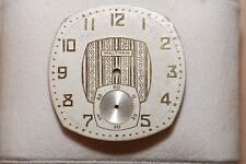 Vintage Waltham Pocket Watch Dial White and Gold 37mm Wide