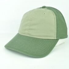 American Needle Two Olive Tones Adjustable Sun Buckle Hat Cap Curved Bill