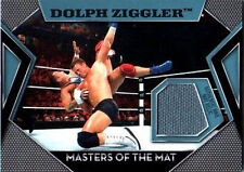 WWE Dolph Ziggler Topps 2011 Masters of the Mat Event Used Relic Card FD30