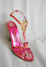 Fantastic Gina pink and orange sandals ,  UK 8/EU 41, BNWT, RRP £345! (3246)