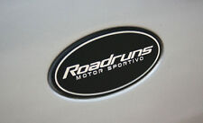 Front Grille Rear Trunk Roadruns L size Emblem 12.9cm x 6.5cm (Made in Korea)