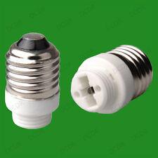 12x a Vite Edison E27 Per G9 Lampadina Adattatore Presa Lampada Convertitore