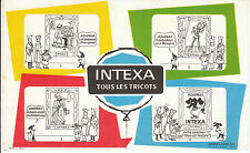 Buvard Vintage  Tricots Intexa