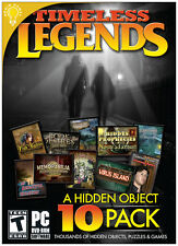 TIMELESS LEGENDS: 10 PC 7/VISTA/XP GAMES OPEN BOX - DEATHMAN, DOMINIC CRANE +