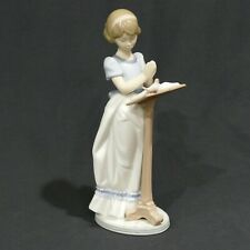 "Retired Lladro 9½"" Figurine No.6584 ""Sunday Prayer"" ~ Exc No Box"