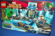 LEGO 6868 Avenger's Hulk's Helicarrier Breakout NISB retired Marvel Super Heroes