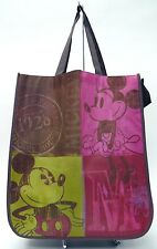 MICKEY & MINNIE MOUSE VINTAGE 1928 Recycled Shopper Tote Reusable  NWT