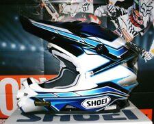 Shoei Motocross Enduro casco VFX-W capacitor tc-4 yamaha ktm azul XL airoh YZ-f