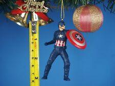 CHRISTBAUMSCHMUCK Deko Ornament Haus Dekor Marvel Avengers Captain America 1386B