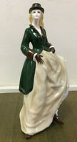 Royal Worcester Perfect Day Lady Figurine Perfect Condition