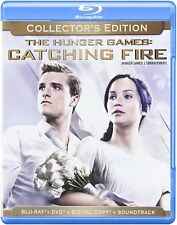 HUNGER GAMES:CATCHING FIRE BLU RAY-Collector's Edition-Brand New! HMV-251/HMV-43