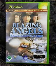 XBOX Spiel Blazing Angels Squadrons of WWII + Anleitung guter Zustand + OVP
