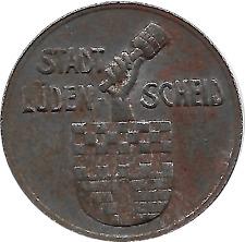 1918 Germany Notgeld Ludenscheid 10 Pfennig