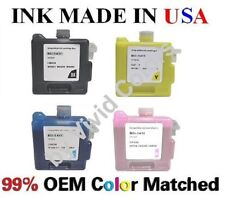 Set of 4 VividColors BCI1411 Compatible ink cartridges for Canon W7200 W8200
