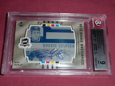 05-06 The Cup Rookie Masterpiece Ryan Getzlaf Auto 1/1 BGS 9 Printing Plate RC