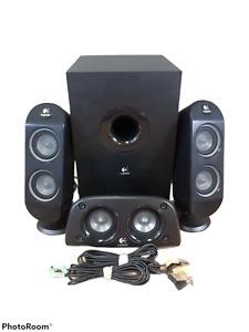 Logitech Z506 Surround Sound Speakers W/ Subwoofer + Mid Speaker + L/R Speakers