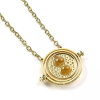 Harry Potter Gold Plated Necklace Time Turner | OFFICIAL
