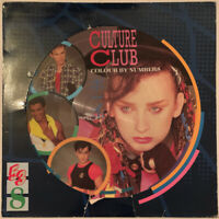 CULTURE CLUB COLOUR BY NUMBERS LP PICTURE DISC 1983 PRO CLEANED