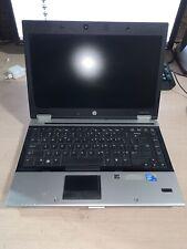 HP Elitebook 8440P Intel COre i7-620M 2.67GHZ 4GB RAM NO HD NO CADDIE NO OS