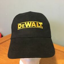 DeWalt Tools Guaranteed Tough Strapback Baseball Hat Cap VGUC
