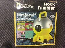 NATIONAL GEOGRAPHIC ROCK TUMBLER polish rocks create semi-precious gemstones kit