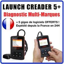 Valise Diagnostic LAUNCH CREADER 5+ V+ en Français - AUTO Valise DIAG COM OBDII
