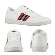 K-Swiss Mens Court Clarkson Suede Trainers Designer Iconic Classic Tennis Shoes