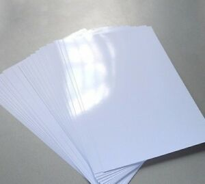 Printer Photo Paper A4 One Side Glossy Inkjet  Premium Quality 250gsm 40 Sheets