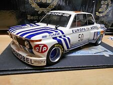 BMW 2002 DRM Euro Möbel Gr.5 GS Tuning Obermoser #50 1974 Resin limitd BOS 1:18